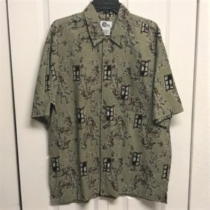 Arizona Shirt Size L Dragon Print